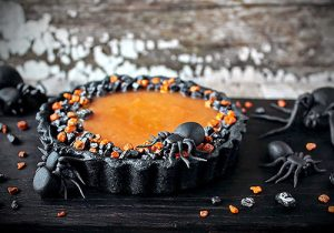 gateau halloween au potimarron