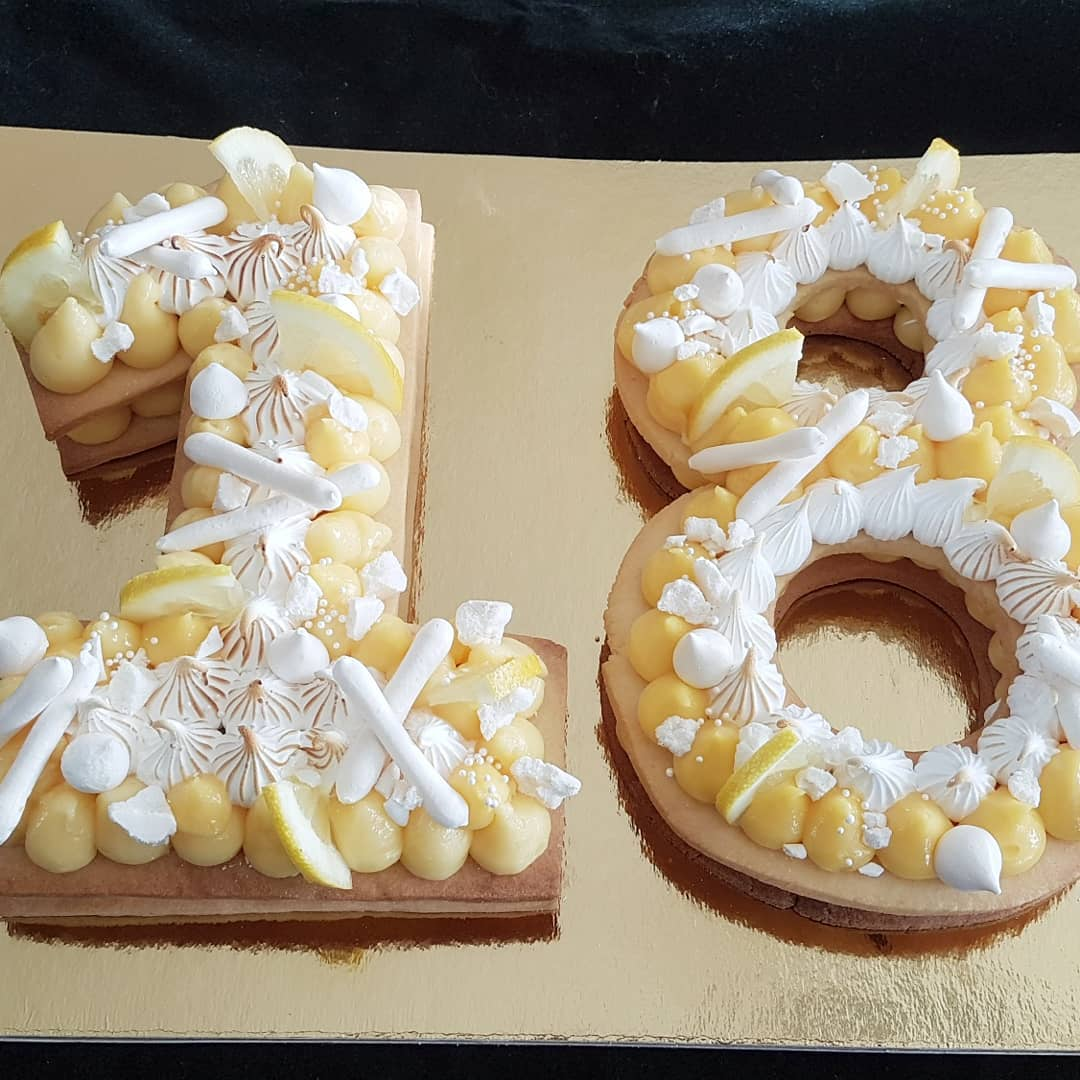 Number cake Peggy